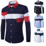 도매 형식은 늦게 남자 2016년을%s 폴로 셔츠 패턴을 디자인한다