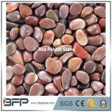 Китай отполировал красный камень камушка с высоким качеством