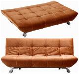 Sofá de dobramento com tampa de tela projetada sem braços