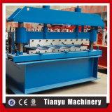 Le mattonelle di tetto del metallo di Ibr laminato a freddo la formazione della macchina