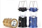 Lanterna di campeggio solare ricaricabile della torcia elettrica Emergency del nuovo prodotto