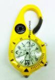 屋外のハングの腕時計上昇クリップは時計入れを見る