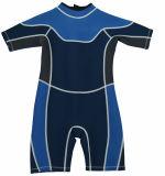 Kostuum van de Duik Swimwear van de Scuba-uitrusting van Shorty van het neopreen het Commerciële voor Jong geitje