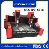 Ck1325 5.5kwの段階モーター花こう岩のルーター機械