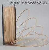 Filamento vendedor caliente de madera del filamento de la impresora 3D