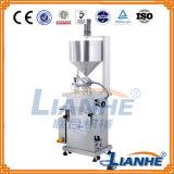 액체를 위한 반 자동적인 충전물 기계 또는 기름 또는 연고 또는 점성 액체 또는 음료
