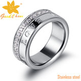 Exsr05A Moda Ladies Stainless Steel Rings