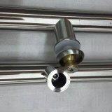 Traitement en verre d'acier inoxydable grand avec la molette principale
