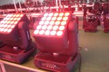 Iluminación de la etapa de la matriz LED de la iluminación 25PCS*10W del LED con el bulbo del LED