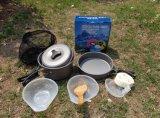Изделия кашевара горячего сбывания алюминиевые напольные & бак варить для 1-2person