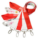 Atacado Custom Printing Strap Neck Polyester Nylon Ribbon