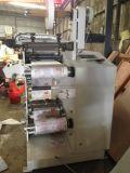 El cortar con tintas rotatorio del color 1 de la impresora de Flexo una