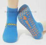 Носки парка Trampoline с Anti-Slip печатание на ноге
