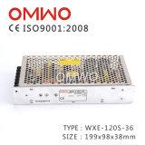 DC 전원 공급에 Wxe-120s-36 SMPS 36V 3A 120W AC