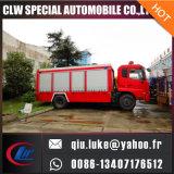 Dongfengの乾燥した粉の消防車のトラック