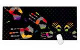 Grande formato 900*400*3mm di XL del calcolatore del PC del gioco di mouse della stuoia di gomma antiscorrimento del rilievo