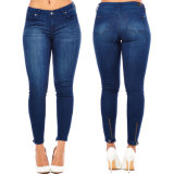 2017 pantaloni scarni dei jeans dei jeans del denim di modo delle donne
