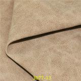 Изготовление Dongguan синтетическое кожаный продавая кожу PU Stocklot