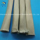 Chemise tressée des fibres de verre 500c résistants de température élevée de Sunbow