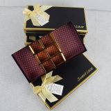 Doos van de Gift van de Luxe van het Embleem van de douane de Verpakkende voor de Verpakking van de Chocolade