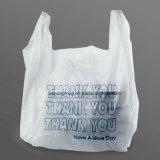 小さい中・大型のサイズのプラスチックTシャツのショッピング・バッグ