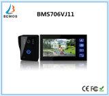 """7 """" video Doorphone inländisches Wertpapier-Gegensprechanlage mit Kamera"""