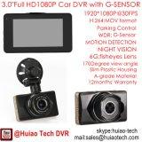 """新しい3.0 """" 30fpsの完全なHD1080pの亜鉛合金ハウジング車DVRのダッシュのカメラ。 H264. デジタルビデオレコーダー。 5.0mega車のカメラ移動式DVR 3010"""