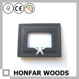 Rustikaler roter festes Holz-Abbildung-Foto-Rahmen für Wand-Dekoration