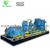 4 etapas Compresor de gas natural comprimido de refrigeración de aire / agua