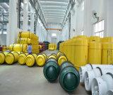 cylindre de gaz réutilisable de soudure en acier de 840L 573kg pour le chlore liquéfié