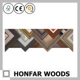 Cornice di legno nera moderna per la decorazione domestica della parete