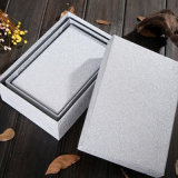 Folha de alumínio da folha quente da transferência térmica de folha de carimbo na tampa de tabela do cartão do presente da caixa de presente da fita