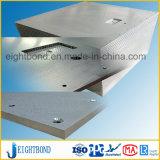 Panneau en aluminium de nid d'abeilles de façade plate pour des matériaux de construction