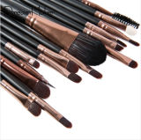 15PCS Makeup Cosmetic Brush Set with Eyeshadow Eyebrow Pencil Brushes