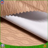 Paso casero de la materia textil 3 que cubre la tela tejida apagón impermeable de la cortina del poliester del franco