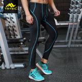 Pantalones de la aptitud de las medias de Legging del deporte del Mens que activan