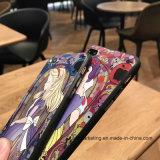 3D Geval Van uitstekende kwaliteit van de Telefoon van de Cel van de Kleurendruk TPU van de Aanraking Zachte Achter Mobiele voor iPhone