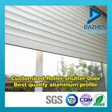 Perfil de aluminio de aluminio de la protuberancia para la ventana modificada para requisitos particulares de la puerta del obturador del rodillo