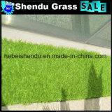erba sintetica molle di 20mm con colore verde dell'arricciatura di Straight+Green