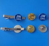青いJw。 Orgのロゴの金属の折りえりPin (折りえりピン1224年)