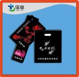 Etiqueta roja de la caída de China