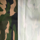 Revestimento revestido de camuflagem Taslon para tecido uniforme