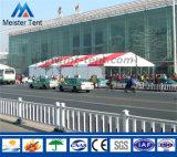 Tienda roja del partido de la exposición de la lona del marco de aluminio para los acontecimientos