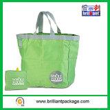 Sac promotionnel se pliant pliable de polyester du sac 190t de sac à provisions