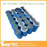 26650 het Pak van de Batterij van het Pak van de Batterij van batterijen 12V LiFePO4 20ah 4s met BMS