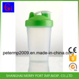 Garrafa de água bebendo do abanador plástico desobstruído material Eco-Friendly da alta qualidade