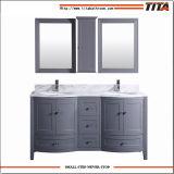 Vanité chinoise T9309-60g de salle de bains de modèle de courbe