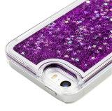 Противоударное iPhone 7/7 аргументы за телефона яркия блеска OEM радушное TPU розовое жидкостное добавочное (XSDD-003)