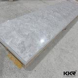 Hoja superficial sólida de piedra artificial coreana al por mayor para la pared de la ducha