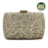 Or de sac à main de mode de Rhinestone de sac chaud de femmes/argent brillant/dames noires même les sacs d'embrayage Eb876